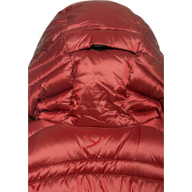 Y by Nordisk Aprica Manteau en duvet Femme, cranberry red